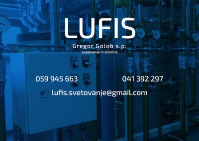 Lufis, svetovanje in storitve, Gregor Golob s.p.
